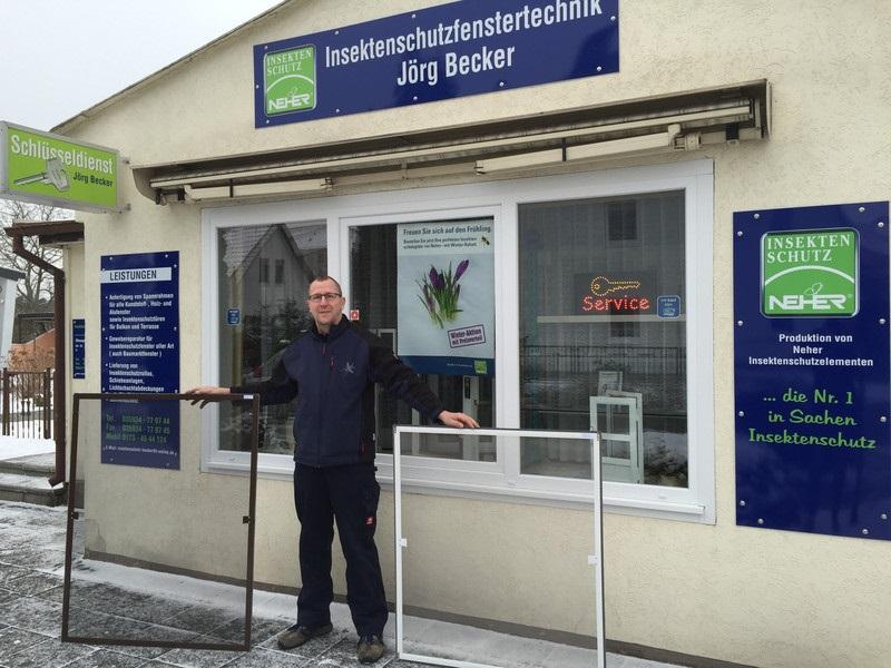 Bild Insektenschutzfenstertechnik Jörg Becker